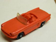 """TOMTE - RENAULT FLORIDE Roadster # 6 RED 1/43 Sc. Made in Norway 3 3/4"""" Nice:"""