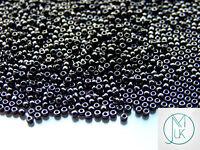 100g 49 Opaque Jet Toho Seed Beads 15/0 1.5mm WHOLESALE
