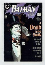 DC Comics Provenance US - Batman N°429 - Janvier 1989