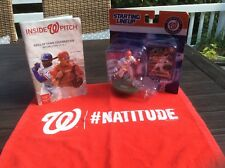 Bryce Harper Action Figure Washington Nationals 8/29/2017 Starting Lineup Extras