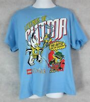 Lego Legends of Chima Boys T-Shirt New Blue Officially Licensed
