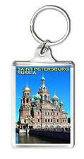 SAINT PETERSBURG RUSSIA MOD2 KEYRING SOUVENIR LLAVERO