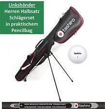 LINKSHAND Golf-Schläger Set Linkshänder HERREN Pencilbag Eisen Putter Hybrid 014