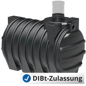 3000 L Abwassertank, Fäkalientank, DN300, abflusslose Sammelgrube mit DIBt - NEU