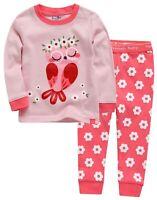 "Vaenait Baby Toddler Kids Clothes Long  Pajama Set ""Love Owl"" 12M-12Y"