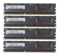 32G For Hynix 4X 8GB 2RX4 DDR3 1333MHz PC3-10600R Reg-DIMM ECC Server Memory RAM