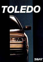 Seat Toledo Prospekt 1992 8/92 8 S. brochure folleto folheto catalogo prospectus