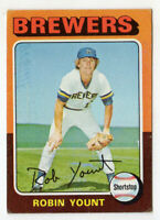 1975 Topps Robin Yount ROOKIE #223 Card! RC! Milwaukee Brewers! HOF!