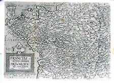 Antica mappa, Franciae