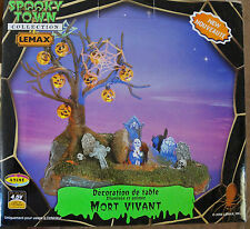LEMAX SPOOKY TOWN COLLECTION 2006 ANIMATED LIVING DEAD RETIRED FREE SHIPPING
