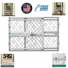 Pet Gate Dog Fence Safety Baby Folding Guard Indoor Mesh Portable Net Door Free