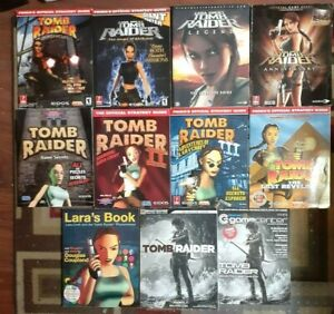 Tomb Raider 1/2/3/Last Revelation/Chronicles/Angel Of Darkness/ Strategy Guides