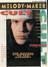 Cult The Stone Roses Sepultura Family Cat Tears For Fears Faith No More magazine