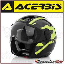 Acerbis Casco X-jet On Bike Nero /giallo M