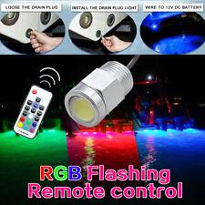 RGB LED yacht light Remote control Dyamic colors marine boat bulb Blue 12V DC