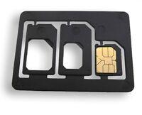 US! LOT Nano SIM To Micro & Standard Card Adapter Converter Professional Quality