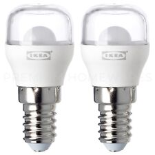 2 x IKEA RYET E14 Small-Screw SES 100lm LED Sign Bulbs