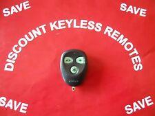 AVITAL AFTERMARKET KEYLESS REMOTE  EZSDE1476 RPN-820021  3-BUTTON  RED LIGHT VGC