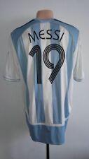 Football shirt soccer Argentina Home 2005/2006/2007 Adidas jersey Messi #19 Sz L
