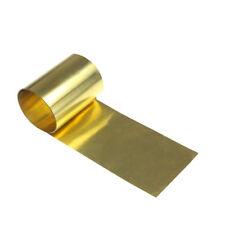 0.01, 0.02, 0.03, 0.05, 0.1, 0.15, 0.2, 0.3mm Brass Metal Sheet Foil Plate Strip