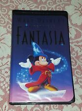 WALT DISNEY'S MASTERPIECE FANTASIA VHS TAPE FAMILY RATED G