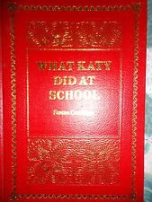 *New*What Katy Did At School by Susan Coolidge