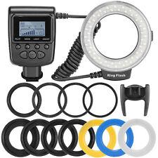 Neewer Macro LED Ring Flash RF550D for Canon 650D 600D Nikon D5000 D3000 D5100