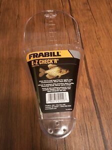 @@NEW Frabill FRB01440 Easy-to-Read E-Z Crappie Checker Fish Ruler Fishing Gear@