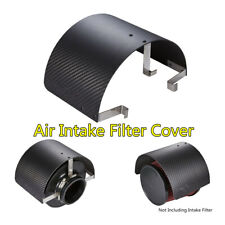 "Car Stainless Steel Air Intake Filter Cover Heat Shield For 2.5""-5.5"" Filter 1PC"