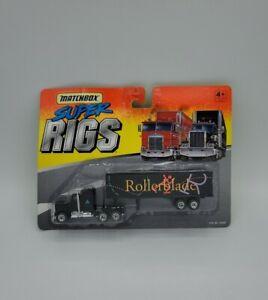 Matchbox 1995 Super Rigs Rollerblade Black Stk No 34330 Kenworth
