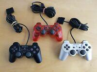 original Playstation 2 (PS2 Dualshock 2) Controller zur Auswahl