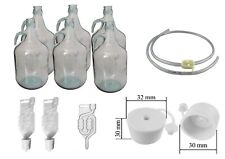 1 gallon, demijohn/carboy, pack of 2,4 & 6, or accessories