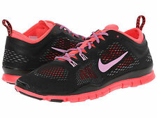 NIKE WOMEN'S FREE 5.0 TR FIT 4 SHOES SIZE 5.5 black magenta punch 629496 011
