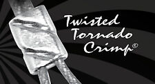 Twisted Tornado Crimp® 99.9% Pure Silver ULTRAPLATE® .024 3mm (Pk 50)