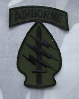 UNITED STATES US ARMY AIRBORNE SPECIAL FORCES EMBROIDERED MILITARY PATCH