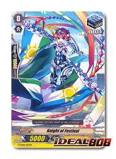 Cardfight Vanguard  x 4 Knight of Festival - G-TD02/017EN - TD (common ver.) Min
