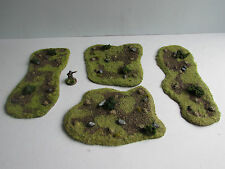 World War 2 Mandertory Miniatures resin 28mm Minefield set, Bolt Action