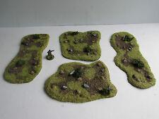 World War 2 Mandertory Miniatures resin 28mm Minefield set, Bolt Action