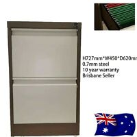 2 Drawer Filing Metal Steel Office Cabinet