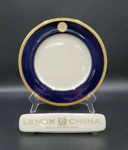Lenox VICE PRESIDENT OF THE UNITED STATES Cobalt & Gold Dinner Plate(s) MINT