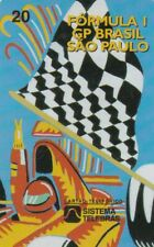 F1 - GP Brazil - Sao  Paulo '97 - Sistema Telebras Phonecard