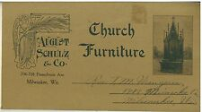 Vintage 1900s  Catalog of Alters, Pulpits, etc. Aug. Schulz & Co. Milwaukee