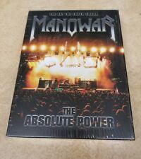 Manowar - Live at Earthshaker Fest 2005 (DVD, 2006, 2-Disc Set) authentic