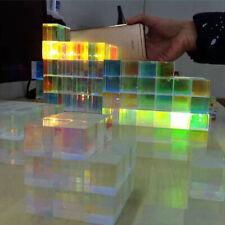 Defective Optical Prism Dichroic Cube Beam Splitter Home Decoration 34*34*36mm
