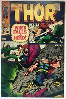 The Mighty Thor #149 - Origin Black Bolt Medusa Crytal Inhumans Loki Odin Marvel