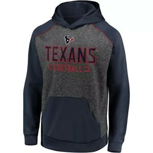 Fanatics Men's Houston Texans Football Chiller Hoodie Sweatshirt Large L NFL