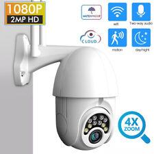 1080P WIFI IP Camera WHITE Wireless Outdoor CCTV HD Home Security IR Cam V380