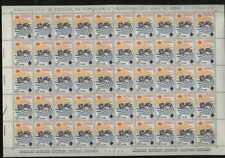 1967  Francobolli Repubblica 9° Giornata del francobollo La Serie in Foglio