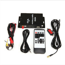 Car Mobile Vehicle Digital TV Receiver Turner Box 4 Video 2 Audio Output for US