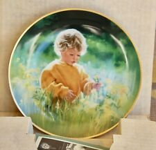 "Collector plate,D. Zolan,""A Time For Peace"",1989,Knowles China."
